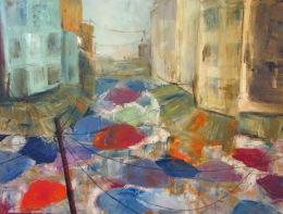 Marysia Schultz | Rainy Market Day